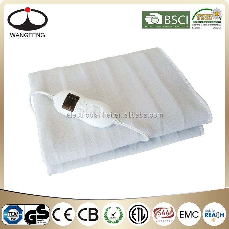 Electric Heating Under Blanket with timer Washable CE/GS/ETL
