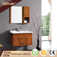 Noble Classic Vanity Cabinets Wall Mounted German Bathroom Furniture Manufacturer