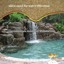 Silica sand for water filtration Size2.36mm-4.75mm/Pure Filter Silica sand