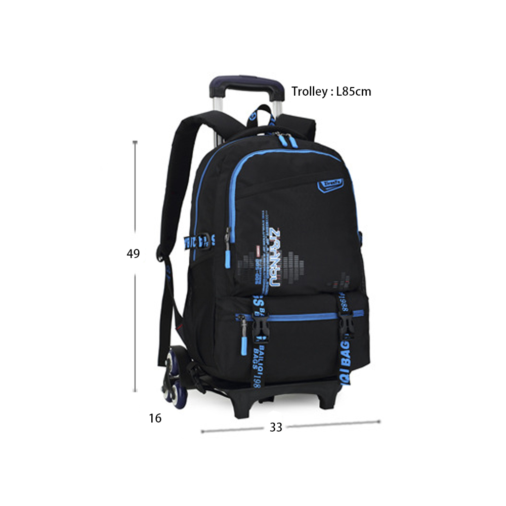 Wholesale School Kids Child Backpack Trolley School Bag