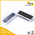 Custom Mini 6 Digit 0.56 Inch 7 Segment Led Display Outdoor Module