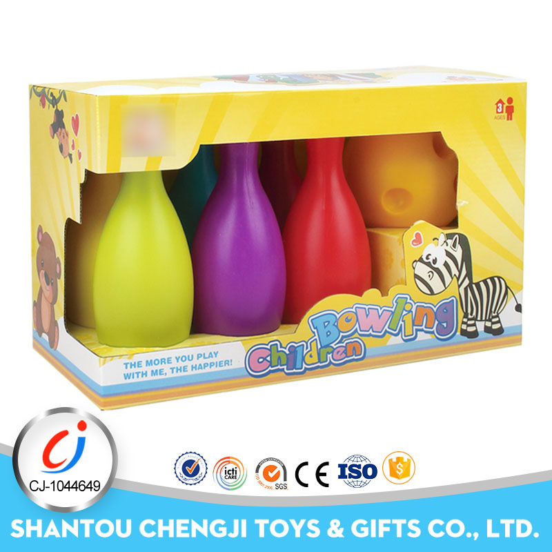 High quality kids ball toy sporting indoor bowling pins for sale