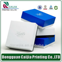 2014 China wholesale gift boxes supplier/rectangle printed cardboard boxes manufacture