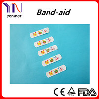 Manufacturer CE Cartoon Wound Plaster Adhesive