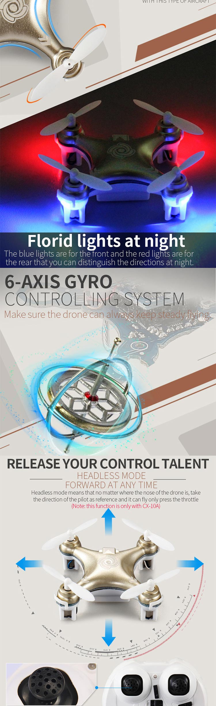 3.7V Mini Quadcopter Drone With Six Axis Aircraft.jpg