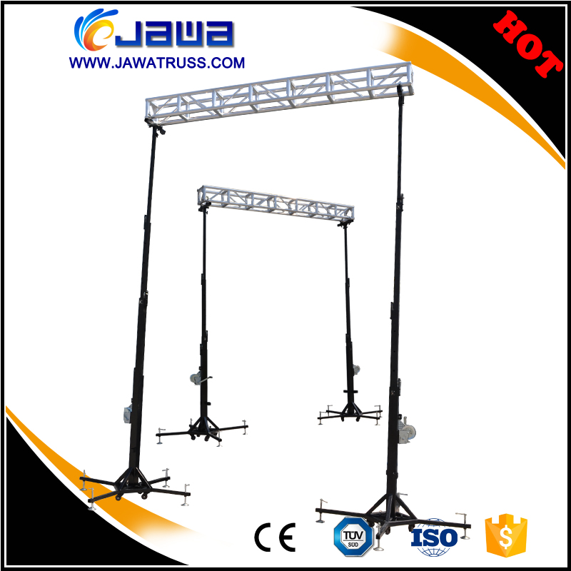 Big discount for outside steel black lift tower truss
