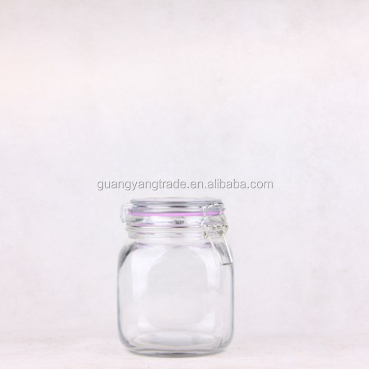Wholesale Food Grade Jam Storage Glass Jar with lid