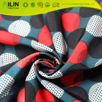 Most popular fabric 100D polyester 30D spandex 4 way stretch fabric
