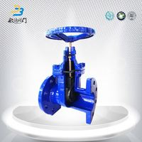 High pressure steam ductile iron gear operated gate valve 500mm