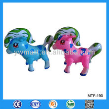 Inflatable horse, (Stock) PVC inflatable horse toy, inflatable horse animal toy