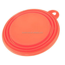 Customized antique silicone pet travel bowls collapsible