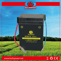 Best selling 6v 4ah motorcycle battery in China
