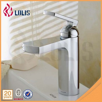 Modern basin sink faucet chrome plated bathroom faucet