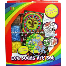 diy handmade Kids Craft Kits,creat wonderful 3d eva art