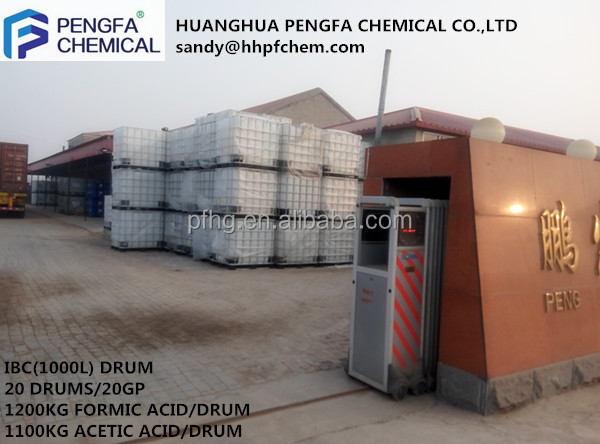 high quality formic acid for rubber plantation