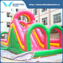 2016 cheap inflatable obstacle course to usa