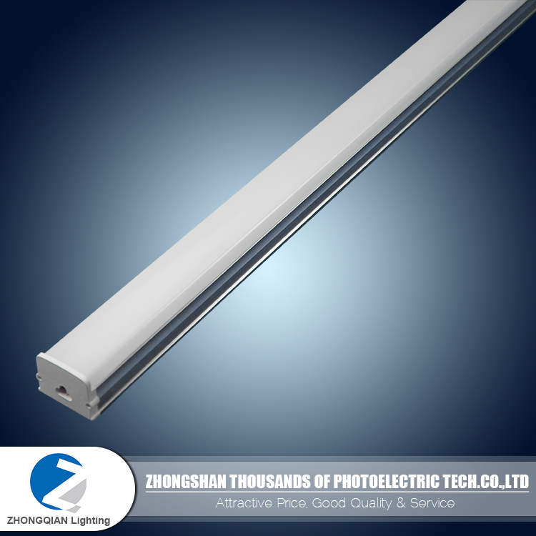 Novel style integrated 90lm/w 120cm t5 4ft led tube light fixture