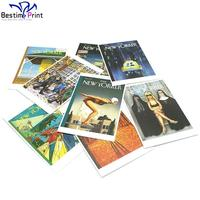 Full Color Offset Printed digital greeting card custom postcards in low price