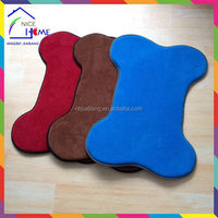 Bone shape quality classical oxford water proof pet bed