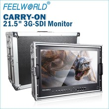 "21.5"" High Resolution 1920x1080 Dual link SDI Broadcast Monitor with RGB image flip check field"