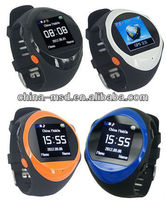 2013 best selling GPS tracking watch phone with GPS SMS/platform location and SOS call function PG88
