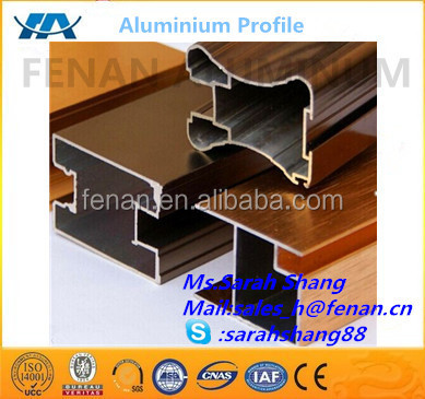 china top aluminum profile manufacturers aluminum window and doors frame with ready
