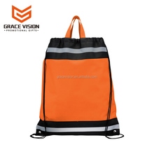 2017 Cheap Fashion Custom Promotional Basketball Drawstring Bag Backpack