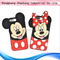 3D animal shape waterproof mobile phone bags & cases