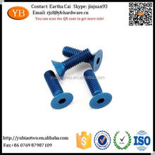 aluminium screw caps and bolts nuts fasteners in China