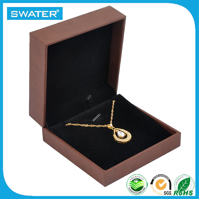 Dubai Wholesale Market Leather Paper Packaging Printed Box