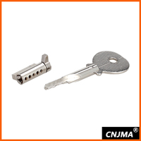 MS108-BK high quality brass lock for residential doors