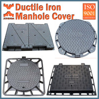 Ductile Iron Manhole Cover; Cast Iron Manhole cover