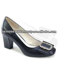 BLACK LONG HEEL TRACHTEN LADIES SHOES