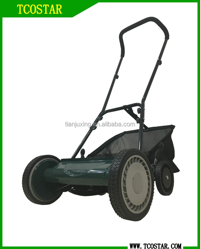 Grass cutting slasher wholesaling mowing machine hand push lawn mower