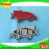 High quality wholesale Custom chrome motorcycle emblem