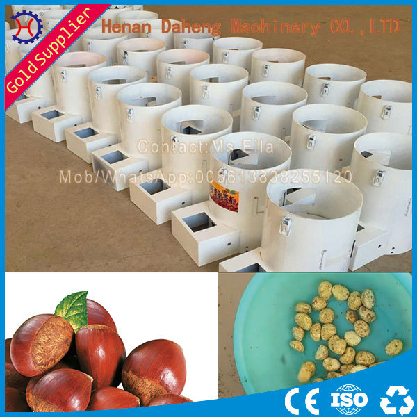 high peeling rate chesnut shell removing machine