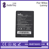 OEM high quality original 3.7v 1800mah mobile phone battery For Wiko Lenny