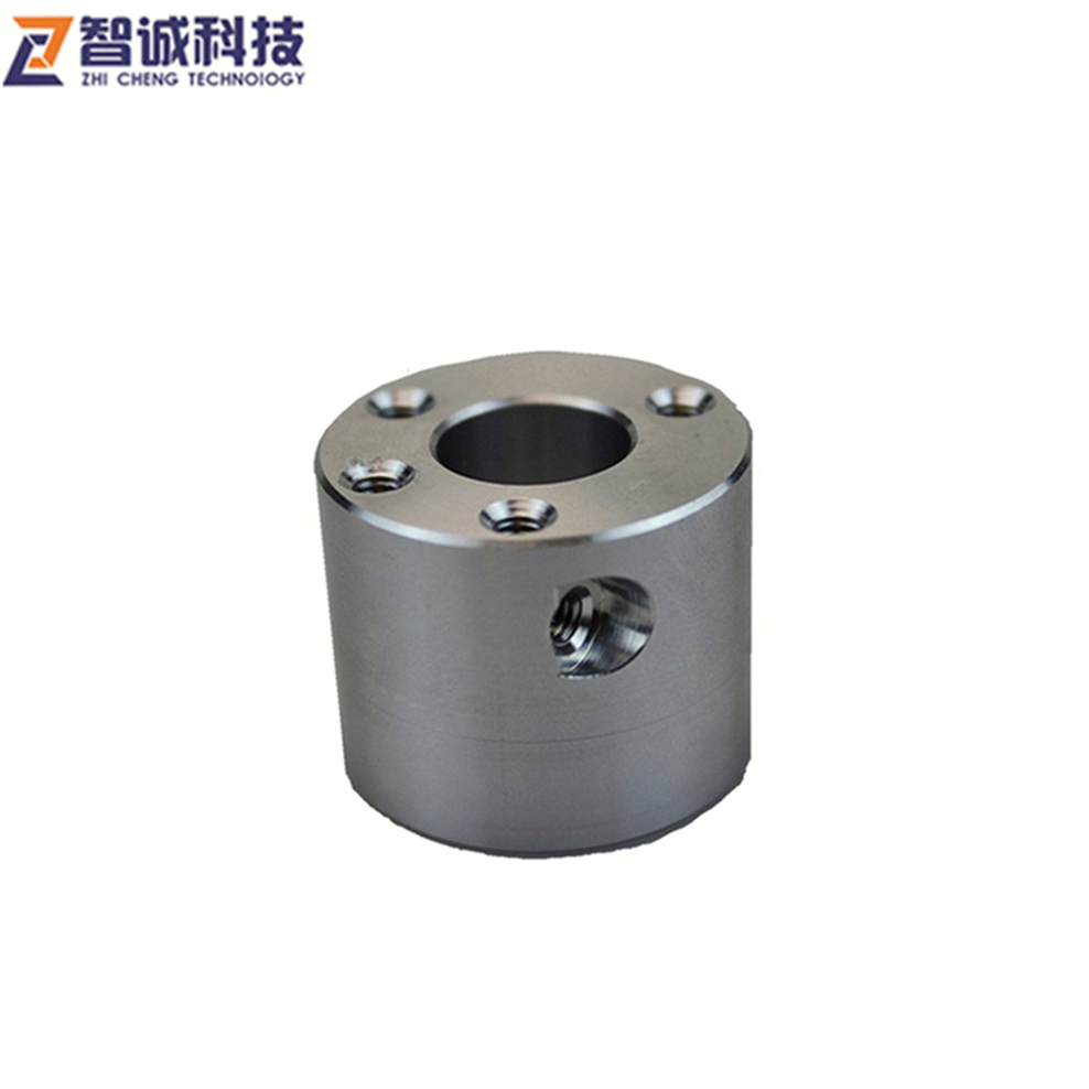 china made top precision custom cnc machining anod aluminum sleeve part of Japan sewing machine