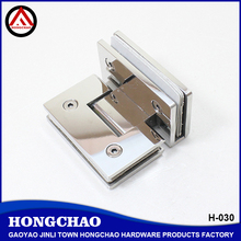 90 degree glass to glass stainless steel self closing glass door hinge