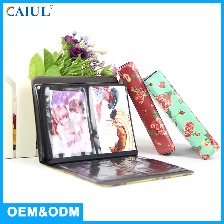 CAIUL Brand PVC Cover Plastic 4 X 6 Photo Albums With Supplier Price