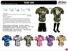 Oem Sublimation football shirt personnalisé football jersey