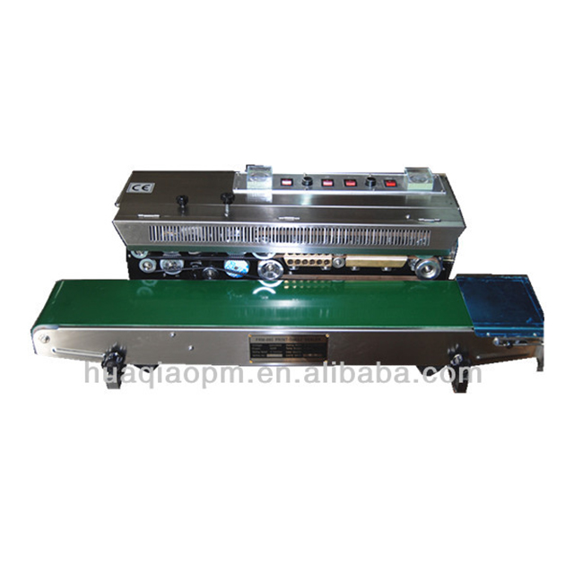 Horizontal continuous band sealers with solid ink printing FRM980W
