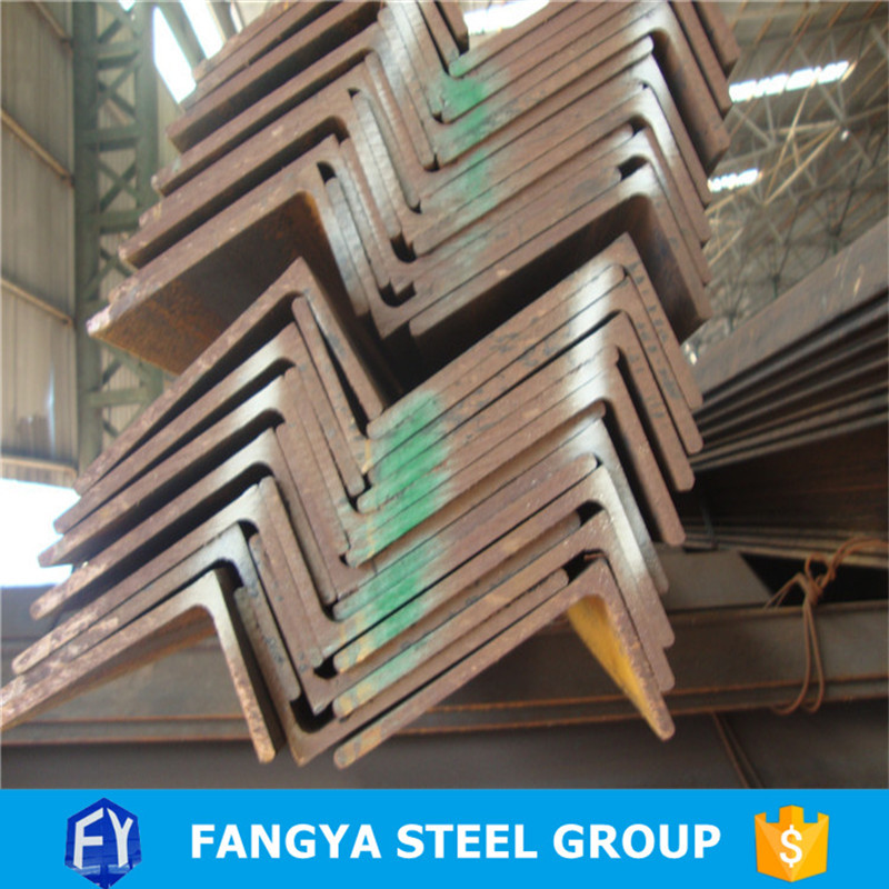 Tianjin Fangya ! ss400 angle iron sizes heavy duty steel angle bracket for wholesales