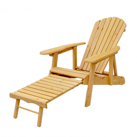 Outdoor Wood Adirondack Chair