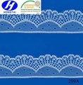 New design tulle edged austrian trimming lace fabric in china