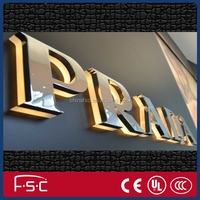 Outdoor LED Blister Light Box Vacuum Formed Letters Sign Made in China