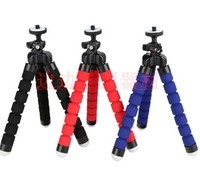New mini Flexible Octopus tripod camera phone tripod stand 360 degree roating head universal for digital camera phone