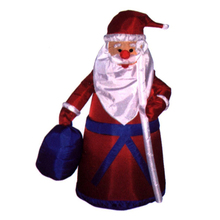inflatable santa with gift bag for Christmas with high quality