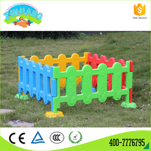 Cheap price customized eco-friendly garden kids plastic fence