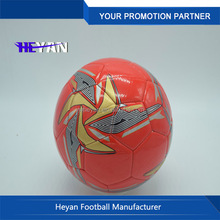 Red color Best Quality Professional Competition Match Soccer Balls Football